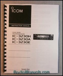 Icom ic 27h Service manual