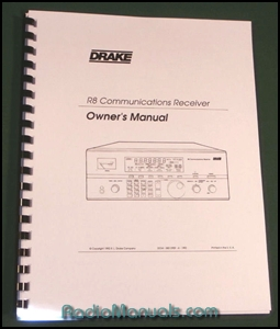 Drake r8 Manual